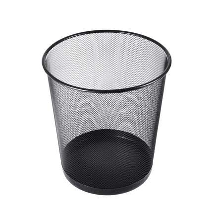 Honrik Papelera, papelera de malla circular, ligera y resistente, de malla circular, cubo de basura para baño, cocina, hogar, oficinas, dormitorios