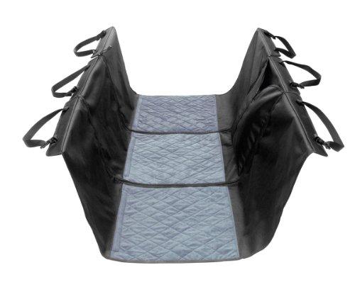 HUNTER Comfort Auto-Schutzdecke, für Rückbank, Schondecke, schwarz, 145 x 145 cm