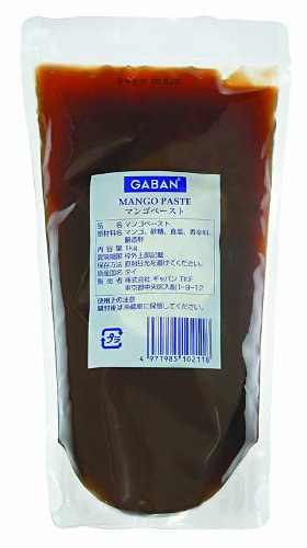 ギャバン マンゴペースト 1kg