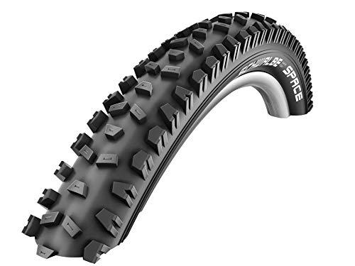 Schwalbe Space Hs326 Neumáticos, Adultos Unisex, Negro, 26x2.35 Zoll