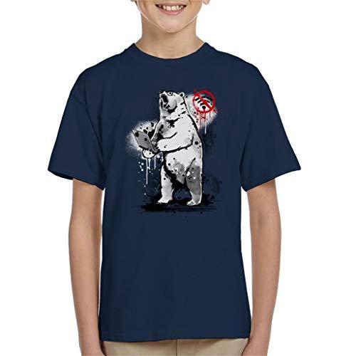 Geen Internet Bear Kid's T-shirt