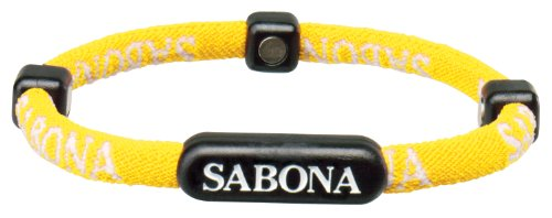 Sabona Athletic Bracelet (Yellow, X-Small/5.75)