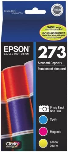 Epson T273520 specialty shop service Printer Ink Cartridge Photo Pack - Combo B