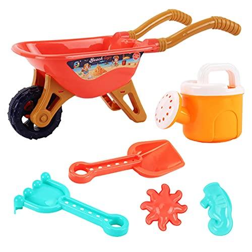 Aibyks Giocattoli da Spiaggia per Bambini, 6 Pz Beach Sand Giocattolo Set Summer Beach Giochi Beach Giocattoli Sand Toys Outdoor Bambini Gioca A Sand Giocattoli Sandbox