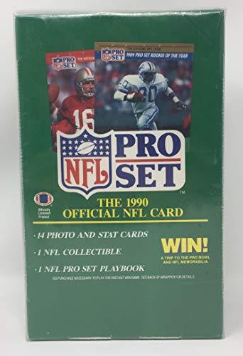 NFL 1990 Pro Set Football Cards
