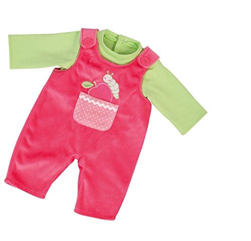 Bayer Design 8381200 - Kleidung für Puppen, Latzhose mit Shirt, Circa 36 - 38 cm