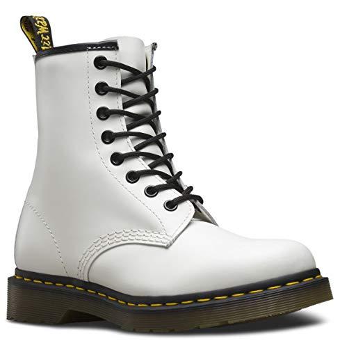 Dr. Martens Unisex-Erwachsene 1460z Dmc Sm Combat Boots, Weiß, 49 EU