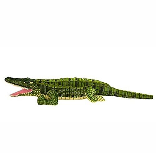 YOOKOON Simulation 3D Crocodile Tenant Coussin Oreiller Enfants Jouets en Peluche poupée (100 cm/39 ')'