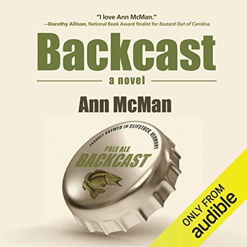 Backcast audiobook cover art