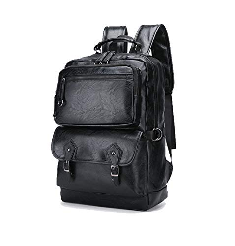 Backpack Travel Laptop Backpack Fashion Motion Cortex Work Bag School Rucksack Gifts for Men and Women Fits 15.6 Inch Black