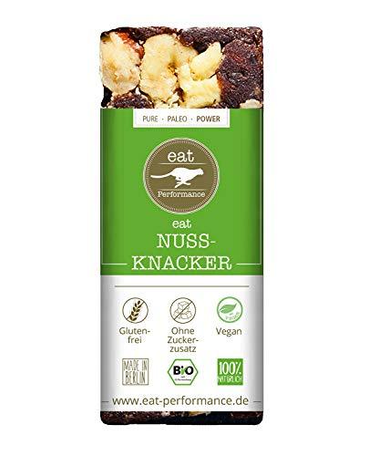 eat Performance® Nuss-Knacker Energie Riegel (40g) - Bio, Paleo, Vegan Aus 100{f6ff749547f7b02748b9456772ea8bf104b2772e52e0ccd225359c6819c56d35} Natürlichen Zutaten