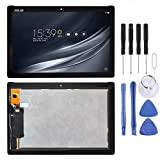 Jiangym Mobile Phone LCD Screen LCD Screen and Digitizer Full Assembly for Asus ZenPad 10 Z301MFL LTE Edition / Z301MF WiFi Edition 1920 x 1080 Pixel(Black) LCD Screen (Color : Black)