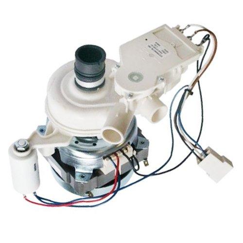 Easyricambi Motore Pompa LAVASTOVIGLIE C00115896 115896 088896 MOTOPOMPA Lavaggio INDESIT ARISTON 60W 4 CONTATTI 950H1I
