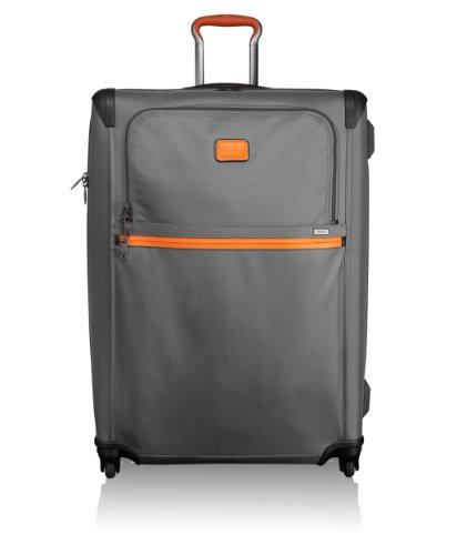 Tumi Maleta Trolley Laptop, Extended Trip, 78 mm, Gris - Grey/Orange, 022069GO2_Grey/Orange_78