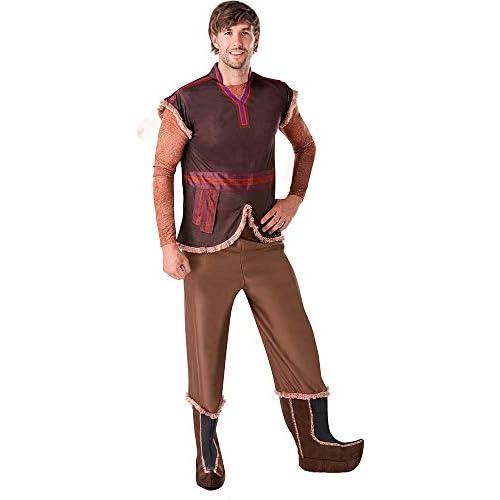 RUC7O|#Rubie's Kristoff Frozen II Adulto Costume, Uomo, Marrone, STD
