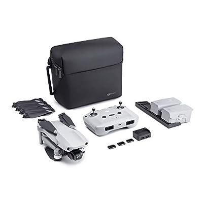 DJI Mavic Air 2 Fly More Combo - Drone Quadcopter UAV with 48MP Camera 4K Video 1/2 inch CMOS Sensor 3-Axis Gimbal 34min Flight Time ActiveTrack 3.0 - Grey