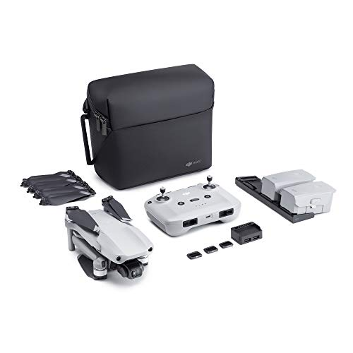 NEW DJI Mavic Air 2 Fly More Combo - Drone Quadcopter UAV with 48MP Camera 4K Video 1/2u0022 CMOS Sensor 3-Axis Gimbal 34min Flight Time ActiveTrack 3.0, Grey