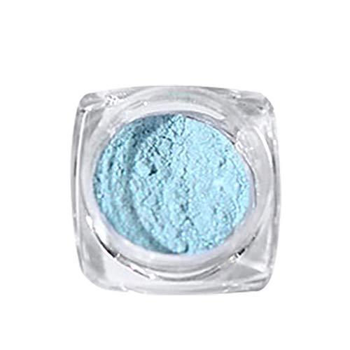 Cwemimifa Gel Nagellack Uv Led, EIS durch Nacktpulver Aurora Powder Mermaid Mirror Flour Nail...