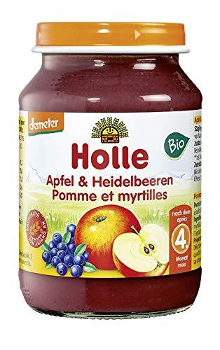 Holle Bio Appel & bosbessen (1 x 190 gr) 2 x 190 gr