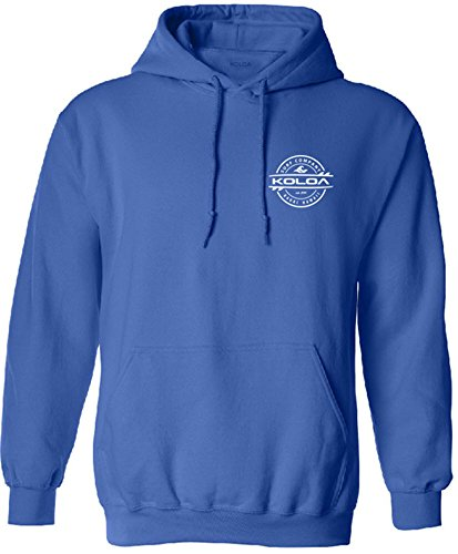 Koloa Surf Thruster Logo Hoodie, Hooded Sweatshirt-L-Royal/w