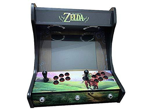 "Arcade BARTOP VIDEOCONSOLA Retro ""EDICIÓN Deluxe"" máquina recreativa..."