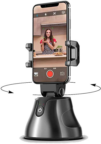 Gimbal Stabilizer for Smartphone, Auto Face&Object Tracking Smart Shooting CameraPortable Integrated Smart Selfie Stick, 360 ° Rotation Automatic face and Object Tracking Camera Smart pho.