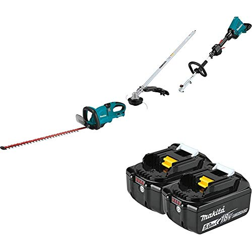 Review Of Makita XHU04Z 18-Volt X2 (36V) LXT Lithium-Ion Cordless 25-1/2 inch Hedge Trimmer and XUX0...