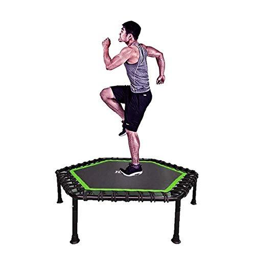 XXCHUIJU Trampolín 45 mini trampolín para deportes al aire libre, para interior/jardín, trampolín de fitness para adultos, para niños y adultos Fitness trampolín, carga 350 libras