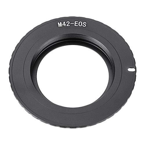 EBTOOLS M42-EOS/EF Adattatore per obiettivo, anello adattatore elettrico M42-EOS/EF per obiettivo M42 per fotocamera Canon EOS/EF