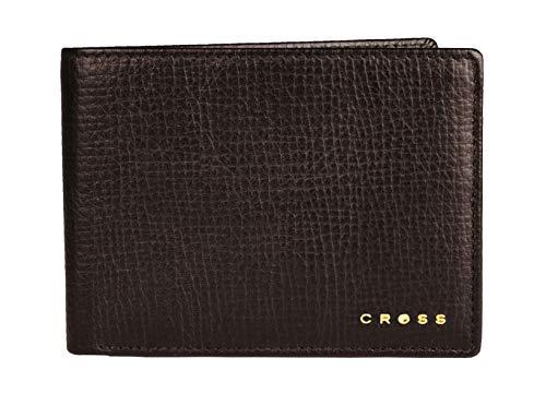 Cross Geldbörse Herren RTC in Geschenkbox mit RFID-Schutz - Echtleder - braun Querformat Slim