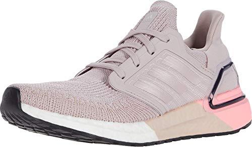 adidas Women's Ultraboost 20 Running Shoe, Pink Spirit/Pink Spirit/Orange, 3.5 UK