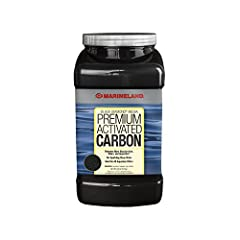 FOR CHEMICAL aquarium FILTRATION Black Diamond Premium Activated Carbon removes odors discoloration and impurities for clear sparkling aquarium water SPECIALLY FORMULATED Composed of heat-activated bituminous coal-based carbon FOR ALL FILTERS Ideal f...