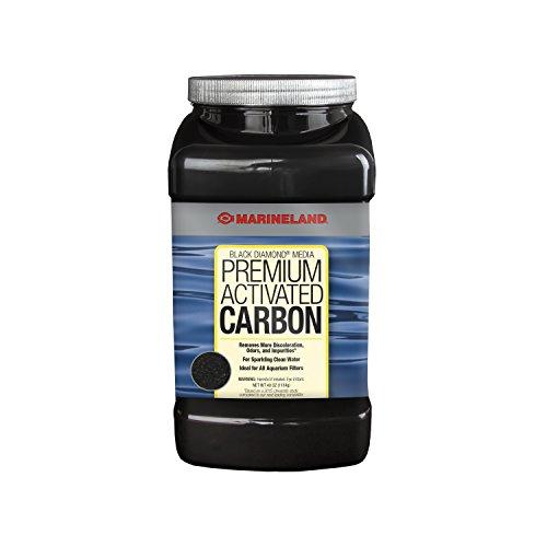 MarineLand Diamond Media Premium Activated Carbon, Blacks & Grays, 40-Ounce (PA0373)
