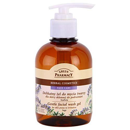 Elfa Pharm GREEN PHARMACY Gel nettoyant pour peaux sensibles sans parabène 270 ml