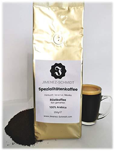 Spezialitätenkaffee aus Mexiko | Röstkaffee fein gemahlen | 100% Arabica | säurearm | langsame Trommelröstung | frische Ernte 2020 | specialty coffee | 250g Packung
