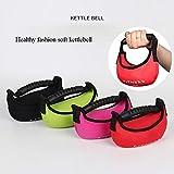 Peso Suave Kettlebell Gym Equipment Resistencia de la Aptitud Bandas Grip Dumbell Caldera Campana Crossfit Culturismo Equipos de la Pesa de Gimnasia (Color : Random Color)