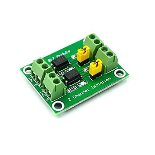 OWENRYIN PC817 Placa de aislamiento optoacoplador 2/4 vías, módulo adaptador convertidor de voltaje, controlador, módulo fotoeléctrico aislado