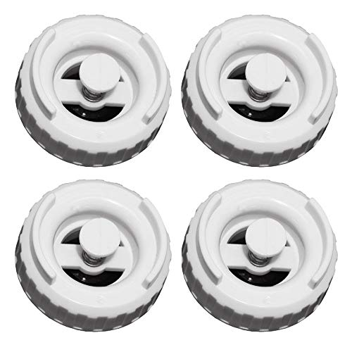 AMI PARTS 509229-1/822419-2 Humidifier Bottle Valve Cap Compatible with Essick Air, Emerson, MoistAir, Kenmore Humidifier (4 Pack)