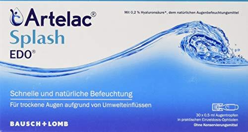 Artelac Splash Augentropfen EDO, 30 St. Einzeldosispipetten