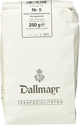 Dallmayr Schwarztee - Nr. 5 Ceylon Kleinblatt, 1er Pack (1 x 250 g)