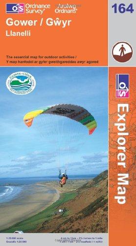 OS Explorer map 164 : Gower / Gŵyr