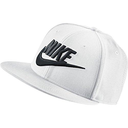 Nike Kappe Limitless True, White/Black, One Size
