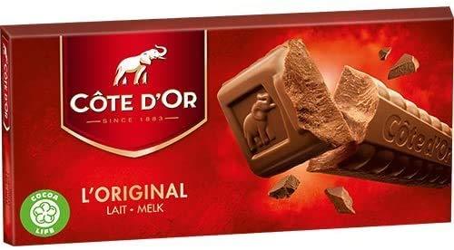 Côte d'Or Vollmilch-Schokolade 'lait-melk' 200g (10)