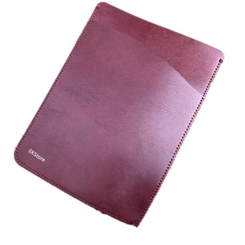 EKStore?【Amazon Kindle Paperwhite Case 電子書保護カバー】 シンプル/軽量/専用/質よい 二つバッグレザー スリム ケース カバー キンドルケース Kindle Paperwhit(2012-2018) 全世代共通(1/2/3/4)/漫画モデル適応 ワインレッド