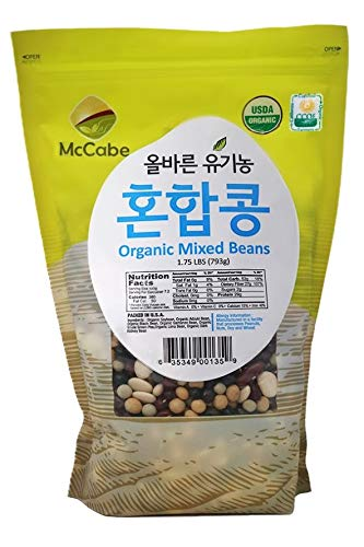 McCabe Organic Mixed Bean, 1.75-Pound