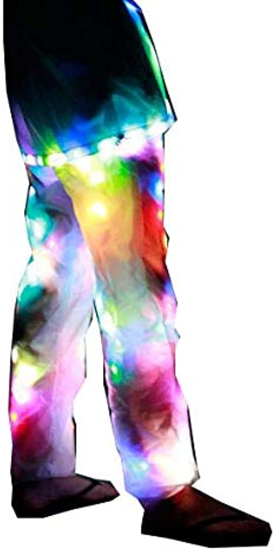 LED Luminous Pants Halloween Christmas colorful Luminous Pants Bar LED Show Dance Props