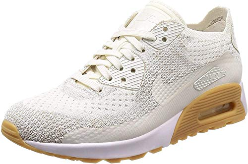Nike Air Huarache Run Ultra GS, Scarpe Running Donna, Bianco (White/White/White 100), 37.5 EU