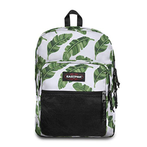 Eastpak Pinnacle Zaino, 42 Cm, 38 L, Bianco (Brize Leaves Natural)