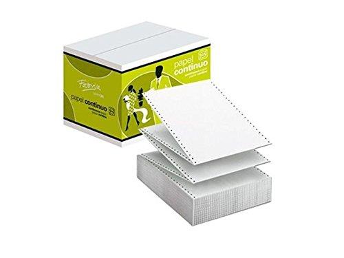 """Fabrisa 1241012 - Caja de 2500 hojas de papel continuo, 1 hoja, 240 x 11"""""""