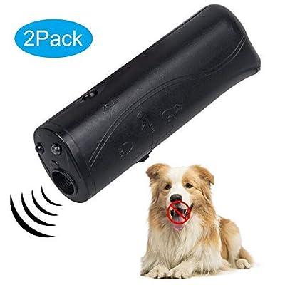 Anti Barking Control Device,Ultrasonic Dog Bark Deterrent,Upgrade Mini Sonic Anti-bark Repellent 50 FT Range,Ultrasound Silencer No Bark Training Control Device Security for Dogs,Dog Anti bark